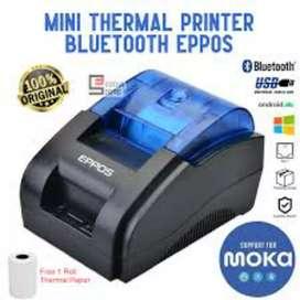 Printer blutut mini 58mm untuk kasir