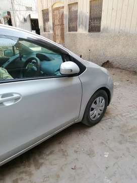 Toyota Vitz for rent with Driver
