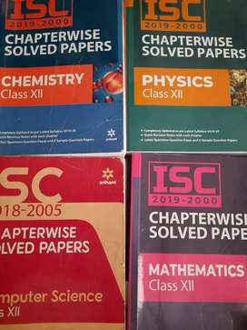 ISC SOLVED PAPERS