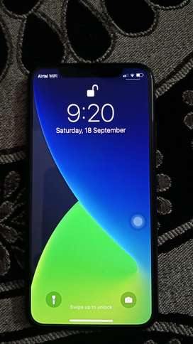 iPhone X Black 64 GB