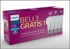 Lampu philips 10 watt