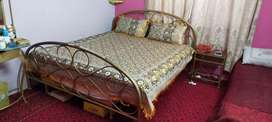 Rod Iron Queen Size Bed