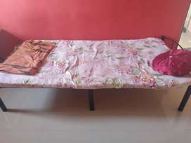 Bed and wardrobe for sale