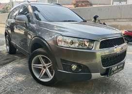 Chevrolet Captiva Diesel A/T 2011 FeceLift Abu-Abu Tua Metalik, Km low
