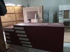 Meja kasir panjang 180