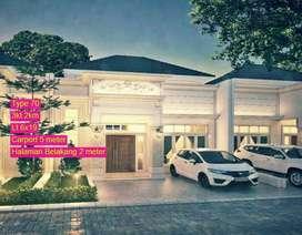 Rumah murah padang bulan Jl bunga terompet 3kt 2km luas
