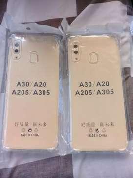 New Samsung A20/30 Softcase Anti crack Tebal