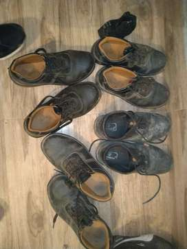 Many safety shoes