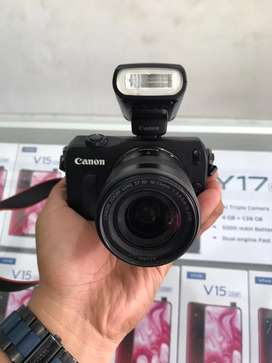 Dijual Canon Mirolles EOS M like new Normal jaya