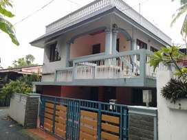 Bus stop only 200 metres 2 bhk 1st floor house family only
