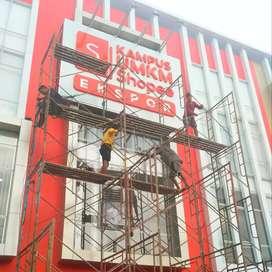 Reklame Jogja Advertising Neonbox, Baliho, Huruf Timbul