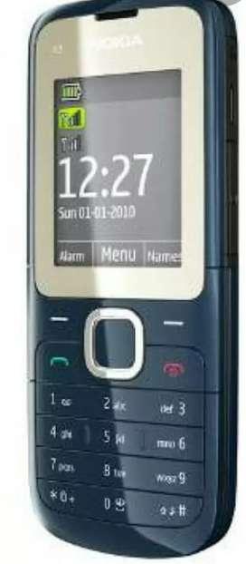 Good condition Mobile Nokia C2.00 Brand