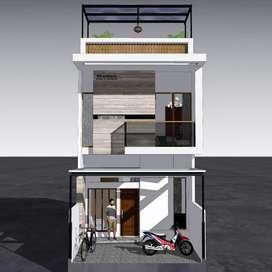 Arsitek bangun rumah tropis ROOFTOP tangerang