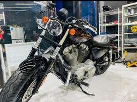 Harley Davidson Sportster 883 Istimewa Bobber style