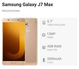 Samsung j7max fresh pta approves.