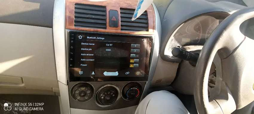Toyota Corolla 2010 android penal