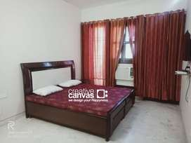 For Girls Only, Fully Furnished One Master BR with Attached Washroom.