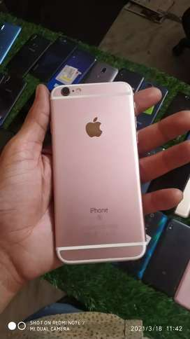 iPhone 6s 16gb rose gold with bill phone charger