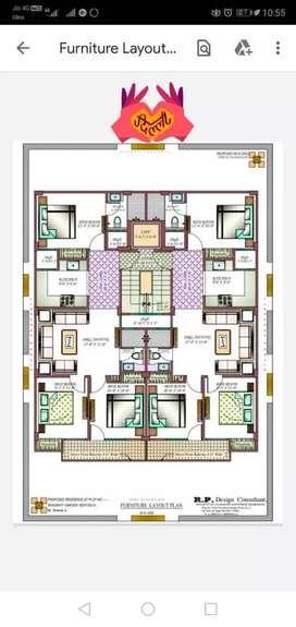 3BHK BUILDER Floor Uttam nagar