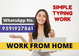 Are you Interested to earn monthly Rs.30,000 from offline typing work?