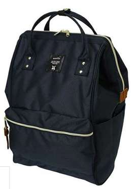 Anello Cross Bottle Series Kuchigane Backpack L Navy - ORIGINAL