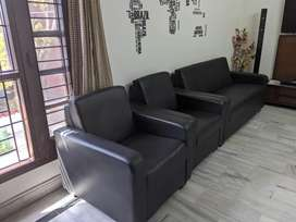 Durian sofa and lounge chairs available at half price.