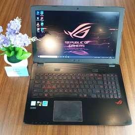 Laptop Asus ROG  core i7 Gen 6 RAM 8 HDD 1TB Bekas / Second