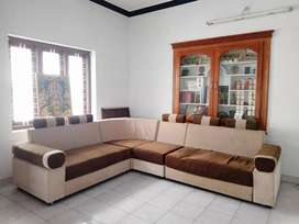 Sofa set. 6 years old. In good condition. Price is negotiable.