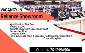Showroom vacancy