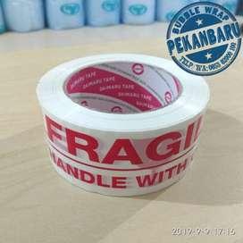 Lakban Fragile di Pekanbaru Riau