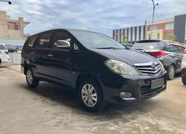 Dijual Toyota Kijang Innova V Hitam 2009 A/T