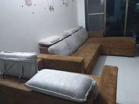 Sofas with lounger