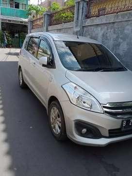 Suzuki Ertiga Silver Manual Barter / over kredit
