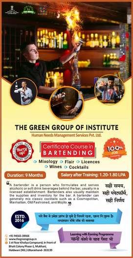 Certificate Course in BarTending