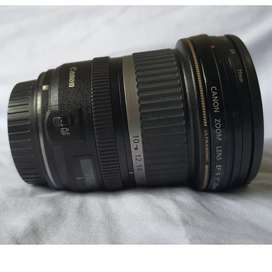 Lensa canon 10 - 22 wide