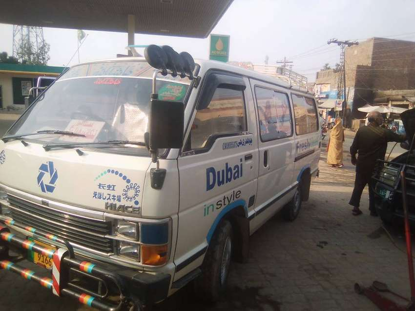 Toyota Hiace 18 seater available 1989 model for sale 0