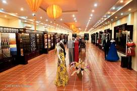 18*38 Showroom floors with lifts on Airport road- 50000 Per month AR