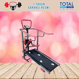 Alat fitness treadmill manual TL 003 treadmil TOTAL COD Sidoarjo