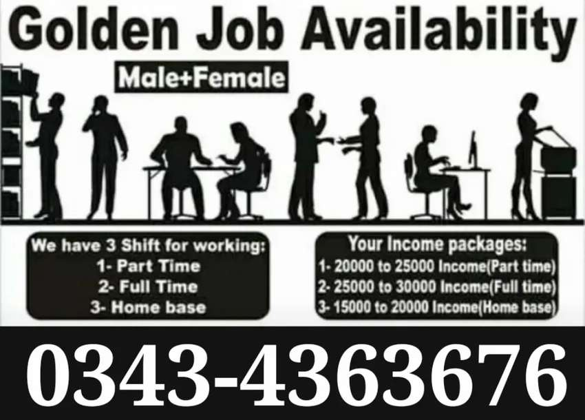 Male /Female /Students Golden Opportunities 0
