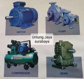 pompa ebara+ gearbox/ dinamo/ emotor/ kompresor