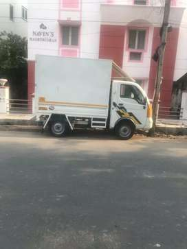 Tata ace mega closed body for rent