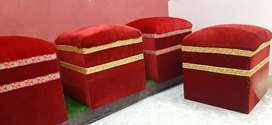 4 Single seeter sofa