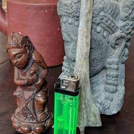 Patung Kepala Dewi Durga