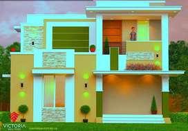 PART PAYMENT Option /  G + 1 villas For sale in Town