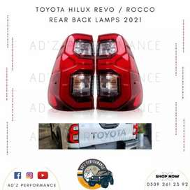 Toyota Hilux Revo Rocco Back Rear Lamps Tail Lights 2021