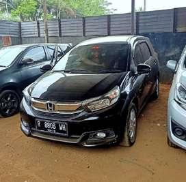 Honda Mobilio 1.5 E CVT 2017. Matic. TDP 25 JT. Plat R. Pajak Panjang.