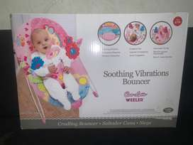 Coco latte weeler soothing vibrations bouncer