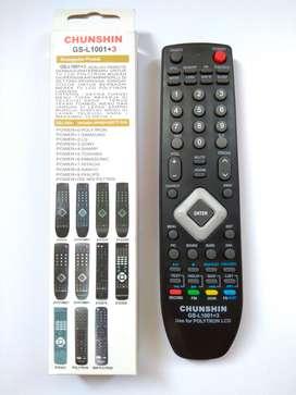 REMOT REMOTE TV POLYTRON LCD LED 81F579M01  81G269  81E878 UNIVERSAL
