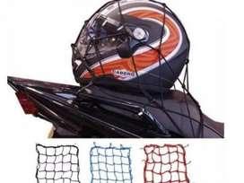 PROMO-Jaring Helm Motor Sepeda Tali Pengikat Barang Bagasi Helmet Net