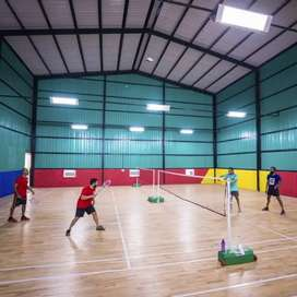 Need intermediate badminton players at night